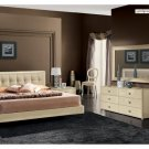 La Star Beige Comp 3 Modern Bedroom Set - King Size