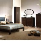 Madrid 4 Pcs Bedroom Set in Wenge