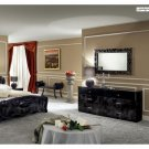 Moda 4 Pcs Bedroom Set in Black
