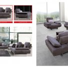 Modern Fabric Living Room Sofa Set with Adjustable Back