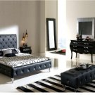 Nelly 4 Pcs Black Bedroom Set