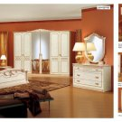 Rosella Ivory Finish 4 Pcs Bedroom Set