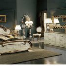 Trend 4 Pcs Bedroom Set in Antique Lacquer Finish