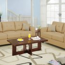 Leather Sofa and Loveseat Set Bradington Style Khaki
