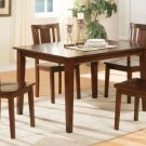 All Wood Mission 5-Piece Dining Set