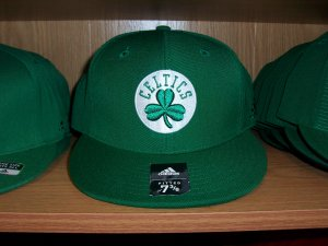 Boston Celtics Bank Shot Fitted