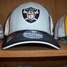 Oakland Raiders Player Pre Season Flex Rear Mesh Cap