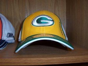 Green Bay Packers Player Pre Season Flex Rear Mesh Cap