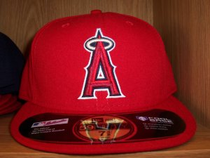 Anaheim Angels Game Fitted