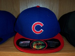 Chicago Cubs Road Fitted