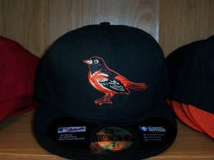 Baltimore Orioles Road Fitted