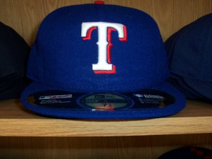 Texas Rangers Home Fitted