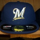 Milwaukee Brewers Game Fitted