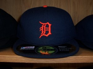 Detroit Tigers Road Fitted