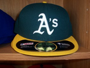 Oakland Athletics Home Fitted