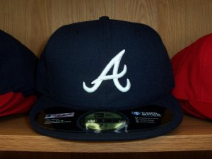 Atlanta Braves Road Fitted
