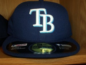 Tampa Bay Rays Game Fitted