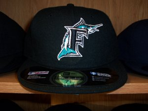 Florida Marlins Game Fitted