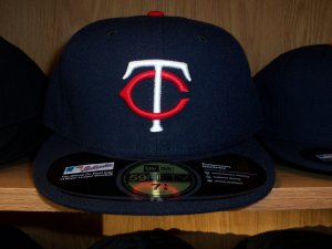 Minnesota Twins Home Fitted