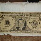 Nixon Poster, three dollar bill * RARE*