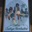 Dallas Cowboys Cheerleaders poster / Mirror circa 1977 / Rare