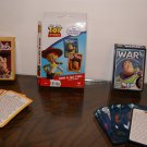 Toy story War & Go Fish games