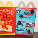 Spy Gear happy meal box