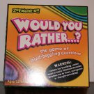 Would you rather..?