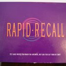 Rapid Recall game