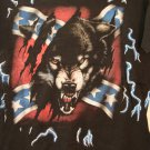 Battle flag with wolf