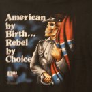 American by birth....Rebel by choice tee