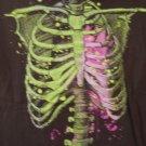 Skeleton / heart tee