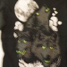 Wolves howling at the Moon tee
