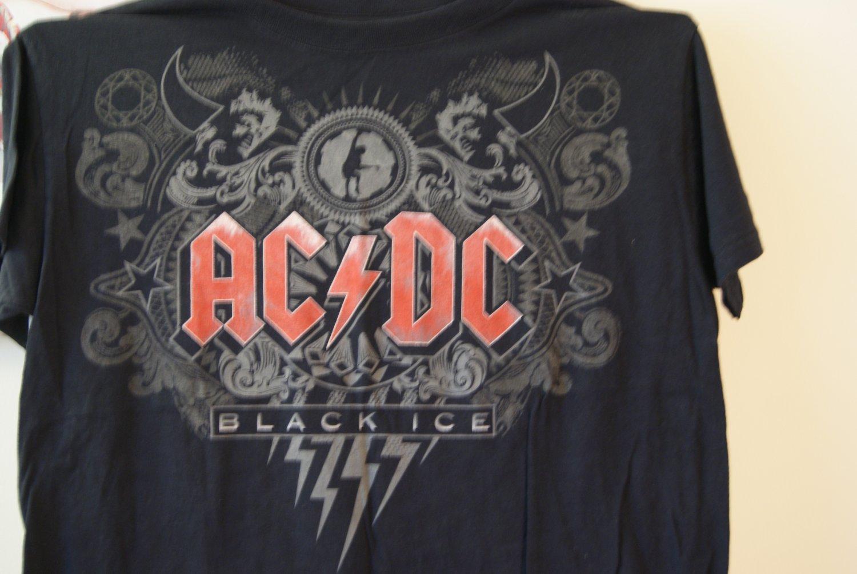 AC DC black ice tee