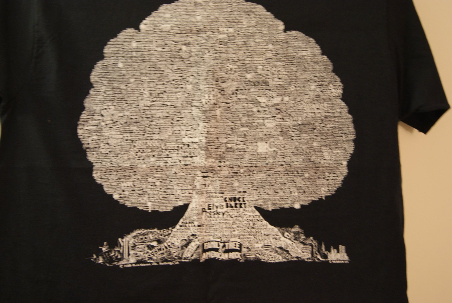 Family tree of American rock tee