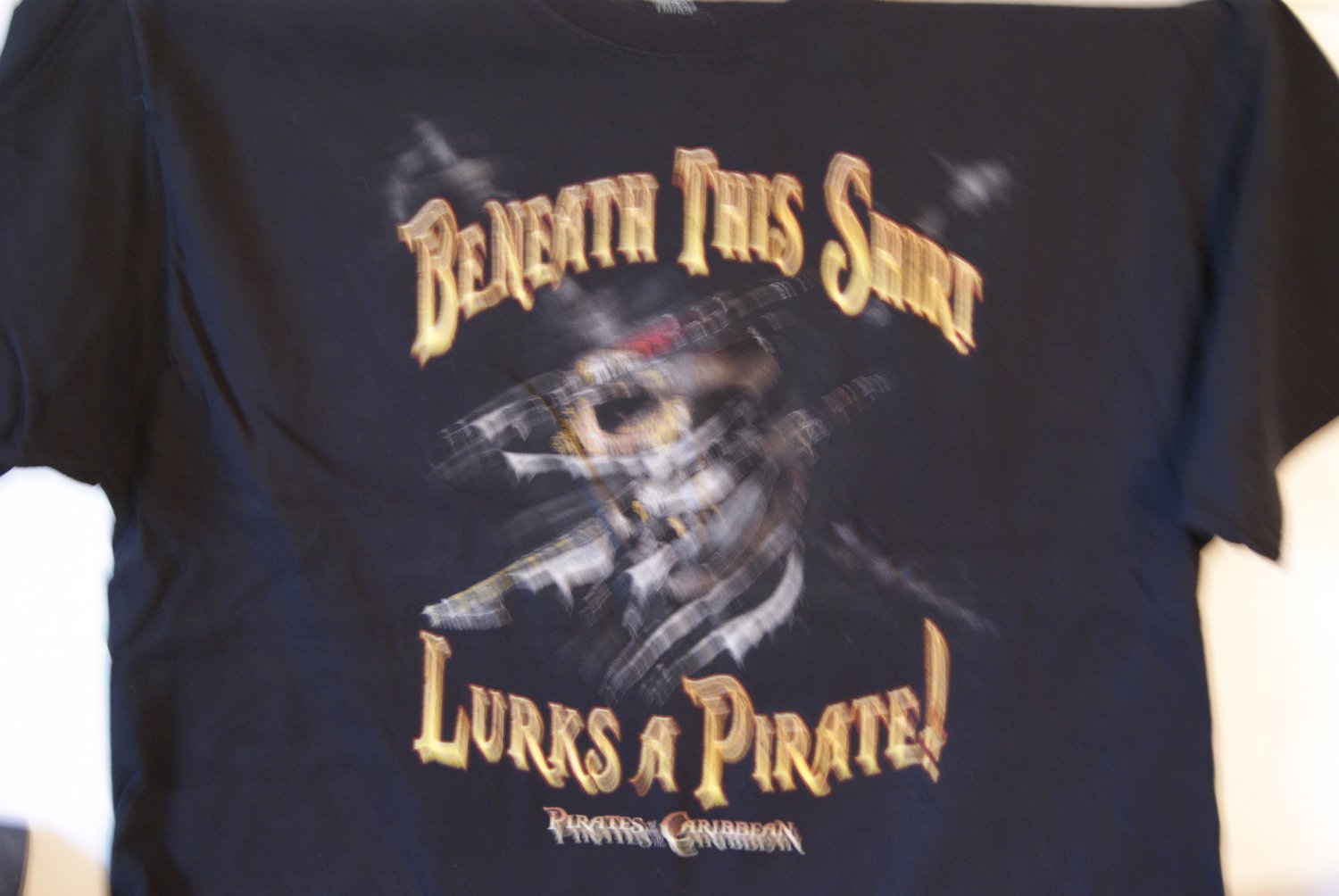 Pirates of the Caribbean tee
