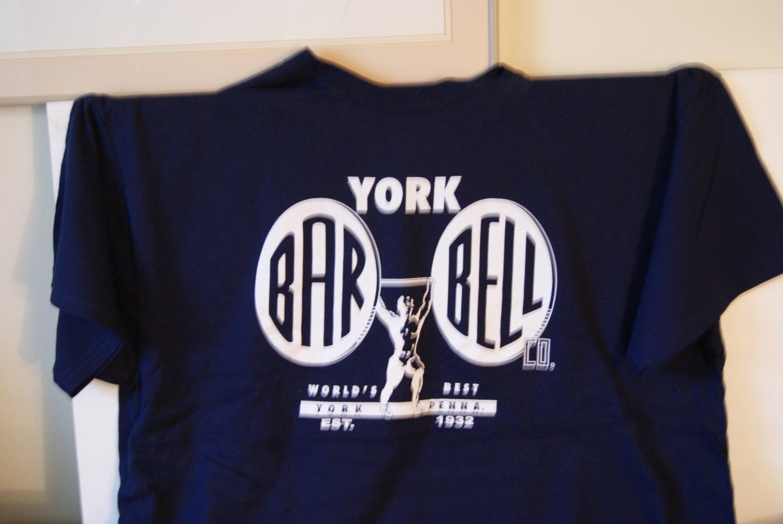 York Bar bell tee