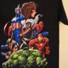 Marvel heros tee