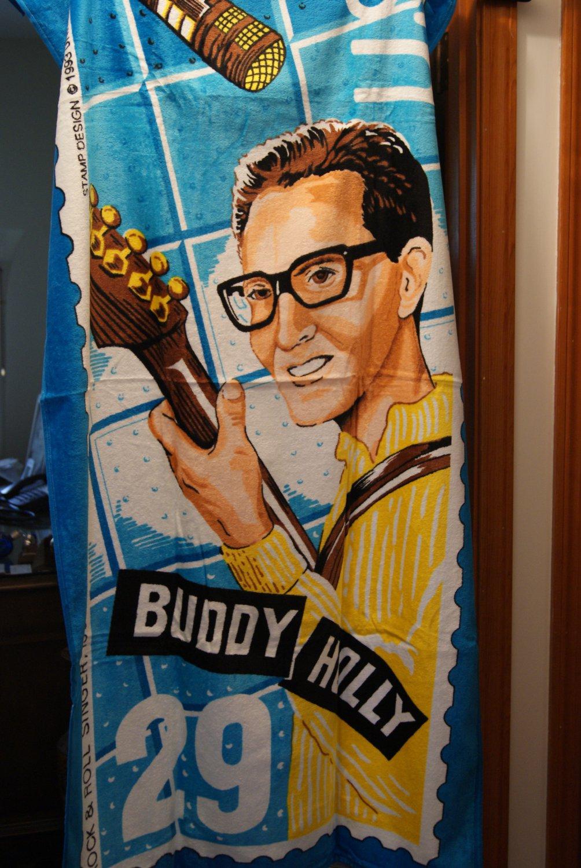 Buddy Holly beach towel