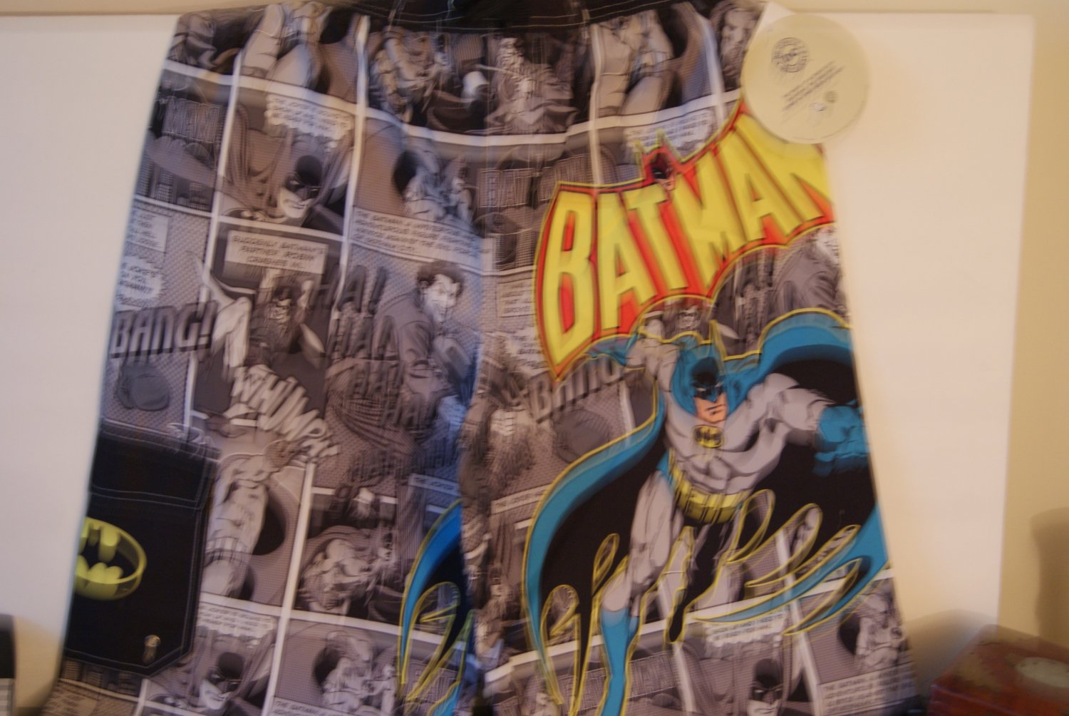 Batman swim trunks / shorts