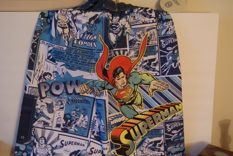 Superman swim trunks / shorts