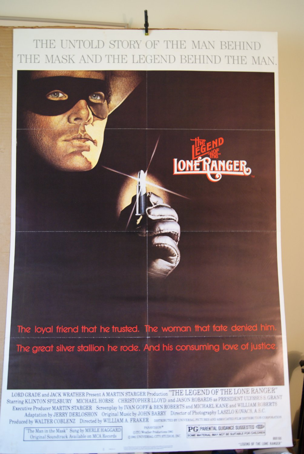 The Legend of The Lone Ranger Poster