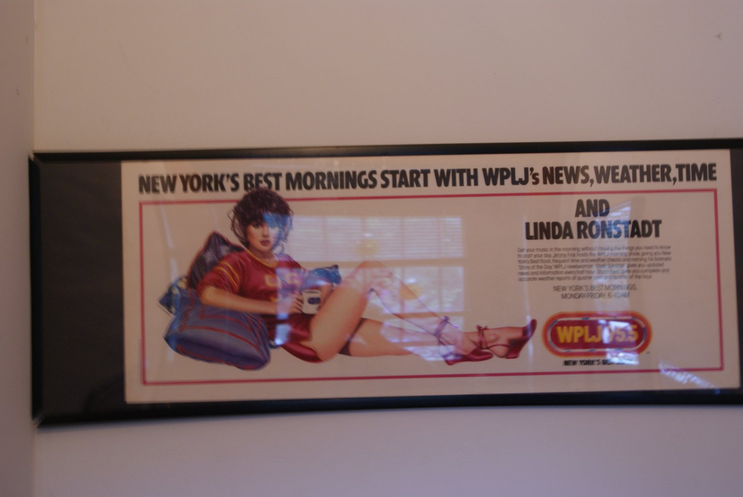 Linda Ronstadt  radio promotion poster