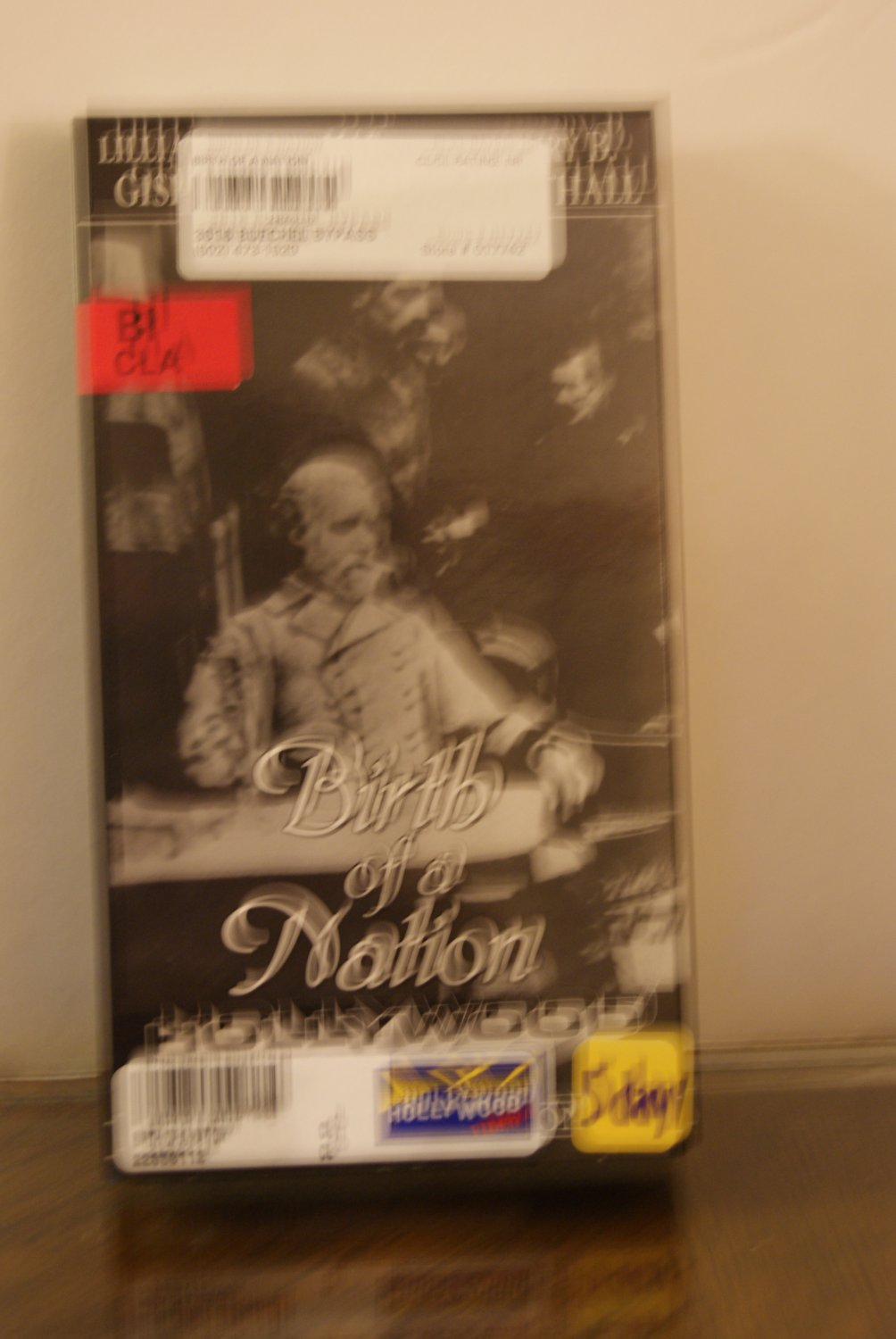 Birth of a Nation ( AKA The Clansman ) VHS tape