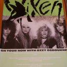 Vixen tour poster