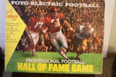 Foto electric football / professional football hall of fame game