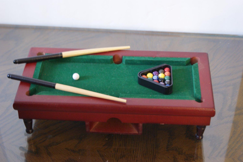 Mini Pool Table Desk Game