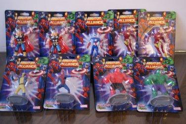 Marvel Miniature Alliance figures