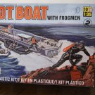 U.D.T. Boat with frogmen model