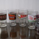 Coca Cola glasses  /  Coca Cola Cooler